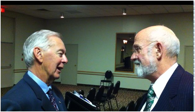Preston Manning and Friend