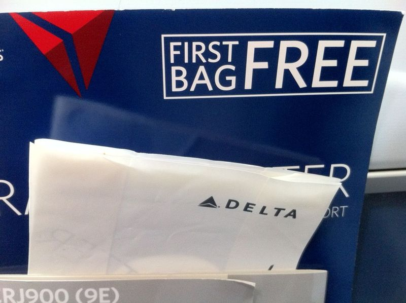 First Bag Free On Delta