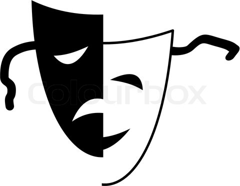 Theatrical-masks-tragedy-and-comedy