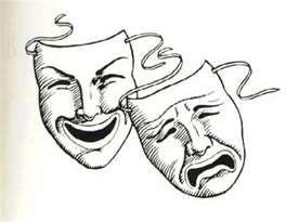 Comedy tragedy mask