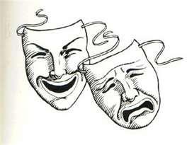 Comedy tragedy mask