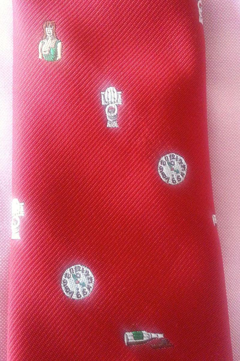 20140805_085322 Baseball necktie