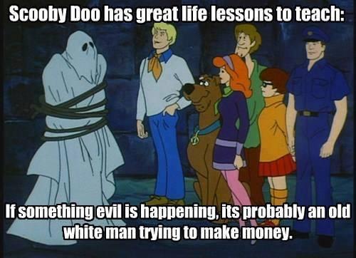 White men do evil