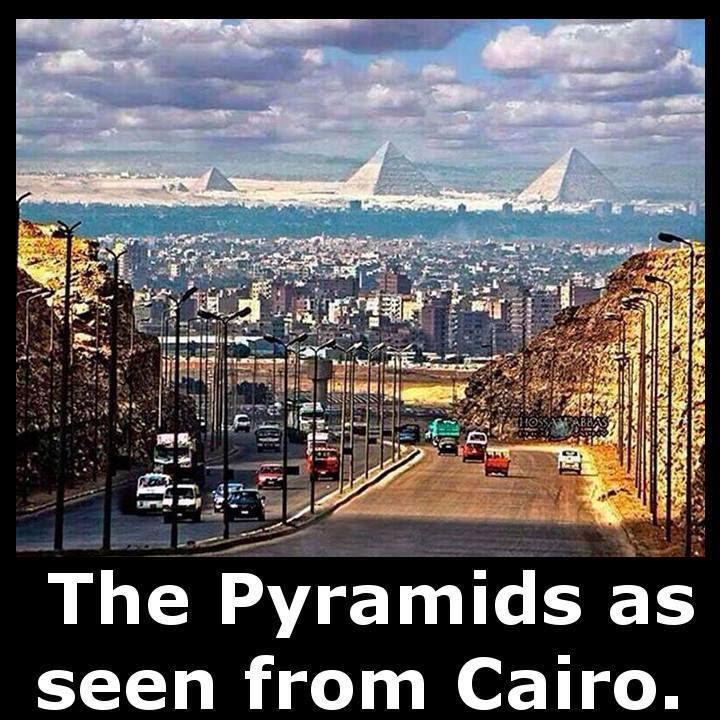PyramidsFrom Cairo